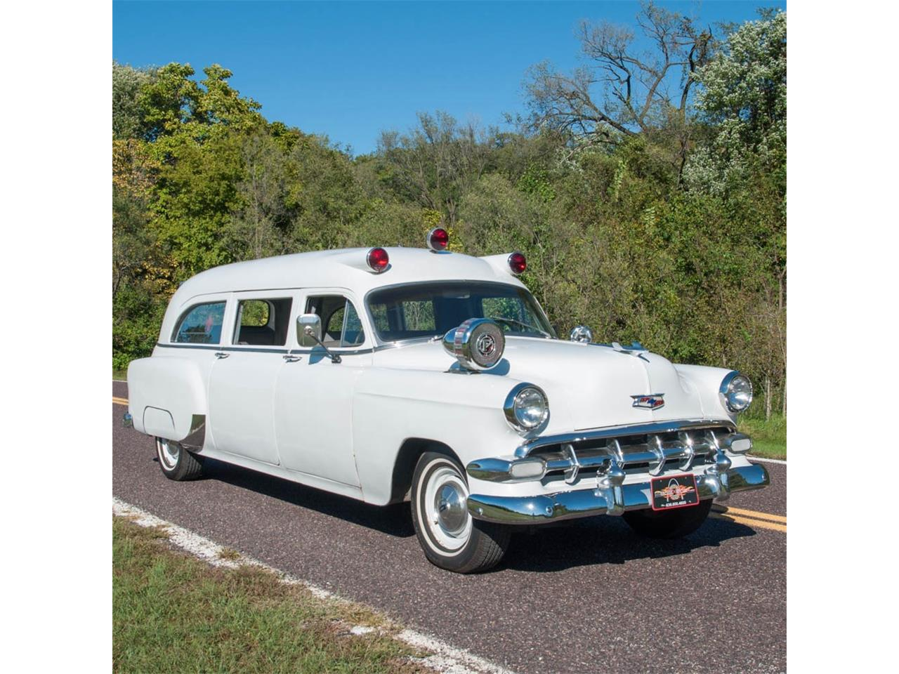 For Sale: 1954 Chevrolet 150 Ambulance in St  Louis, Missouri