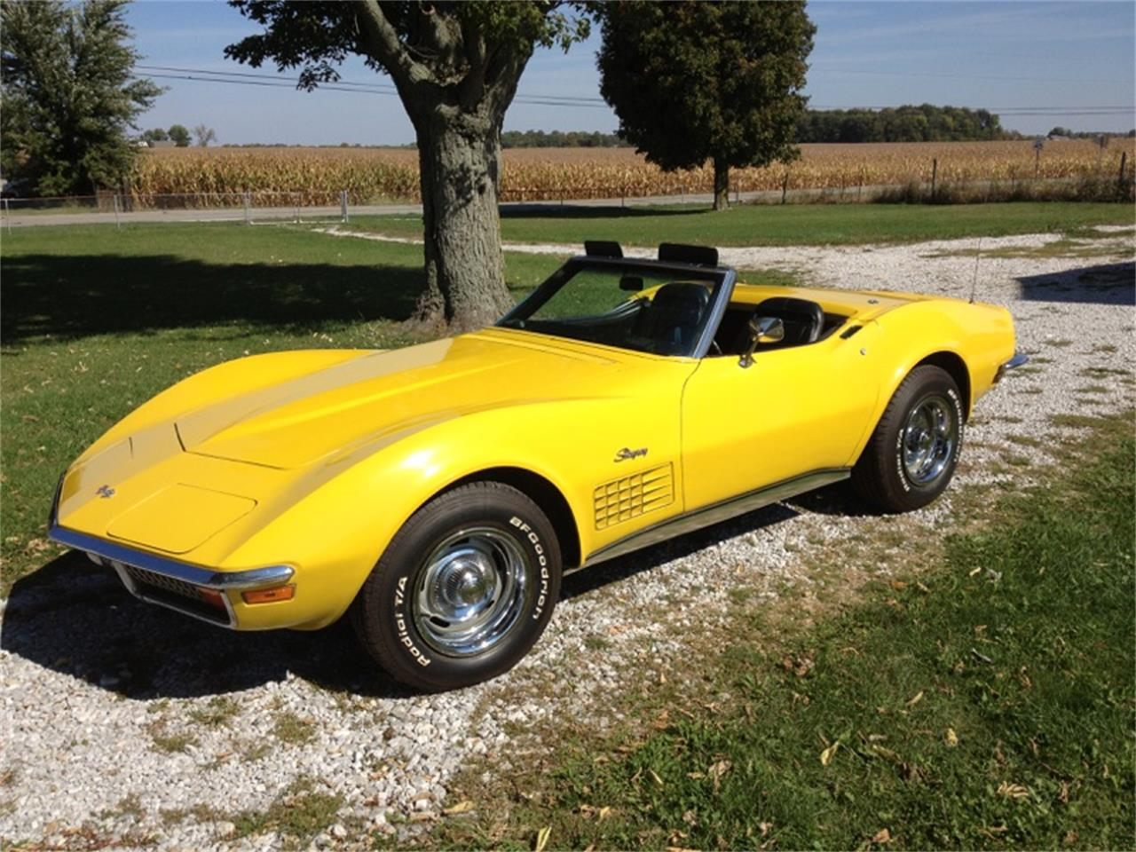 Large Picture of 1972 Chevrolet Corvette located in Alexandria Indiana - $28,000.00 Offered by a Private Seller - JLV4