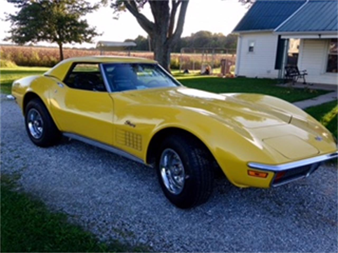 Large Picture of Classic '72 Chevrolet Corvette located in Alexandria Indiana - $28,000.00 Offered by a Private Seller - JLV4