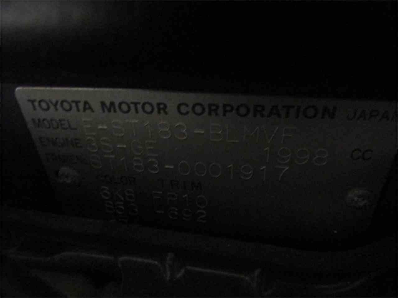 Large Picture of 1989 Celica located in Virginia - $10,831.00 - JM31