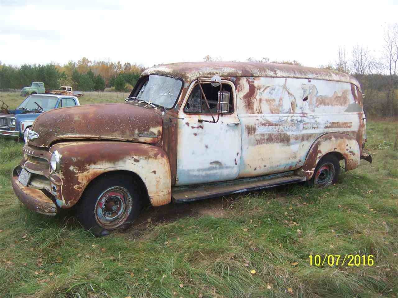Large Picture of '54 Chevrolet Panel Truck - JIKE