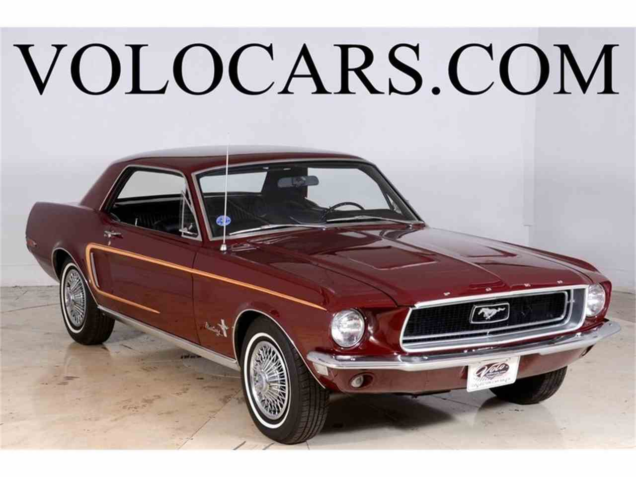 Large Picture of '68 Mustang located in Illinois - $14,998.00 Offered by Volo Auto Museum - JOB6