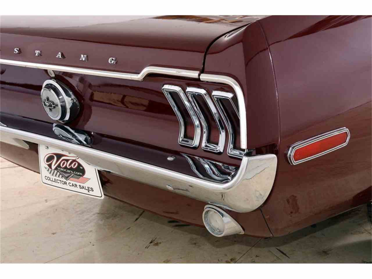 Large Picture of 1968 Mustang located in Volo Illinois - $14,998.00 Offered by Volo Auto Museum - JOB6
