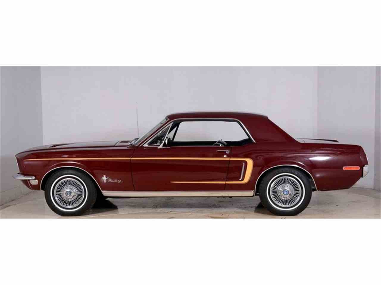 Large Picture of 1968 Ford Mustang located in Volo Illinois - $14,998.00 Offered by Volo Auto Museum - JOB6