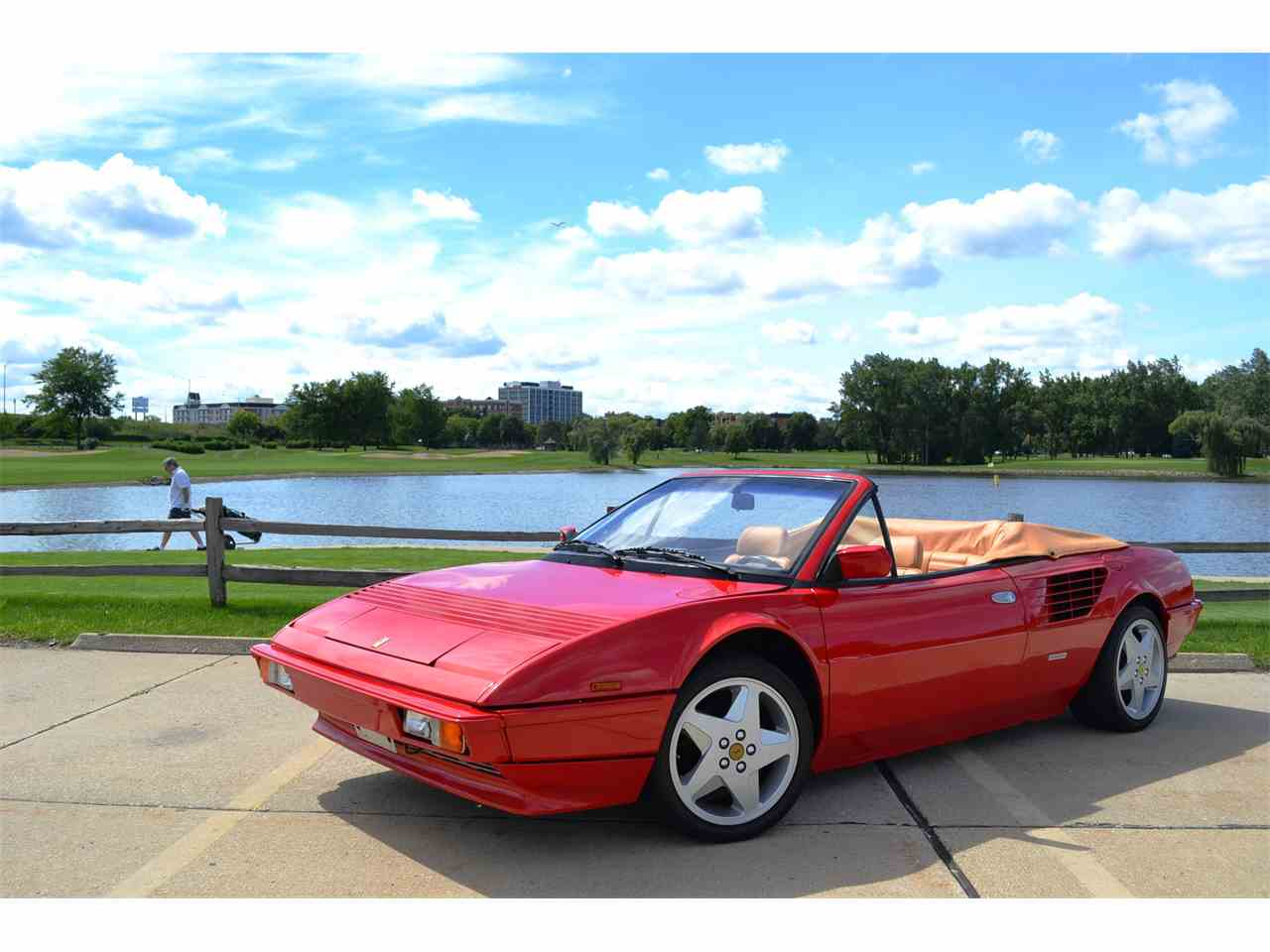 Large Picture of 1985 Ferrari Mondial located in Illinois Offered by Roadster Salon - JOFL