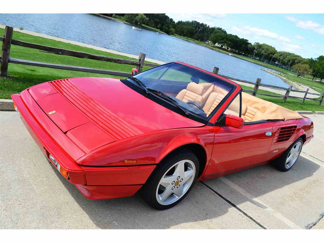 Large Picture of 1985 Ferrari Mondial located in Barrington Illinois Offered by Roadster Salon - JOFL