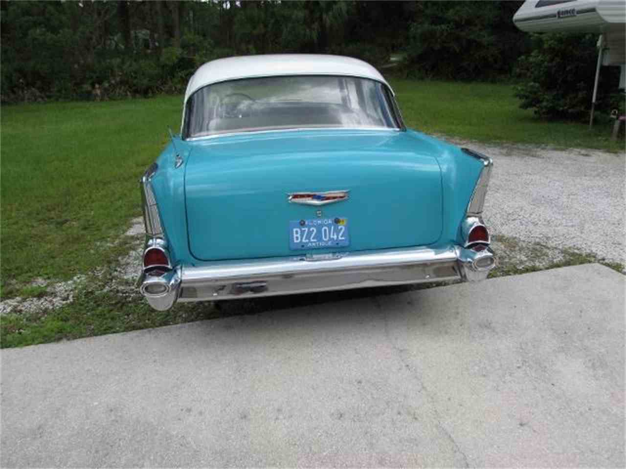 Large Picture of Classic '57 Chevrolet Bel Air located in Florida Offered by a Private Seller - JOG1