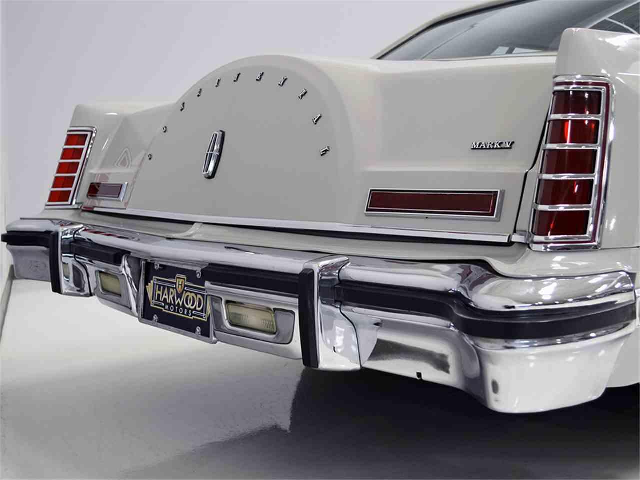 Large Picture of '77 Lincoln Continental Mark V - $13,900.00 Offered by Harwood Motors, LTD. - JOGC