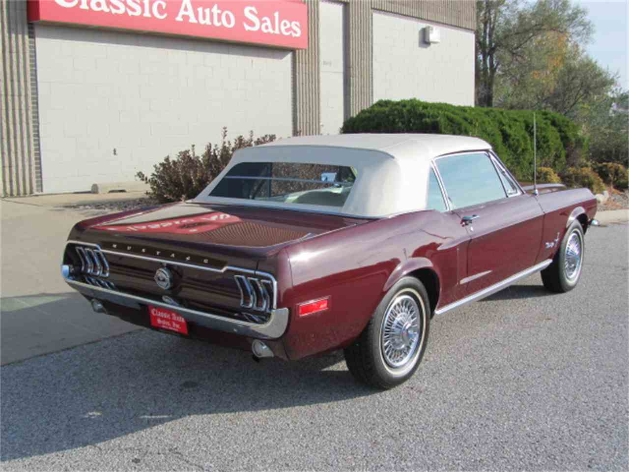 Large Picture of 1968 Ford Mustang located in Nebraska Offered by Classic Auto Sales - JOGK