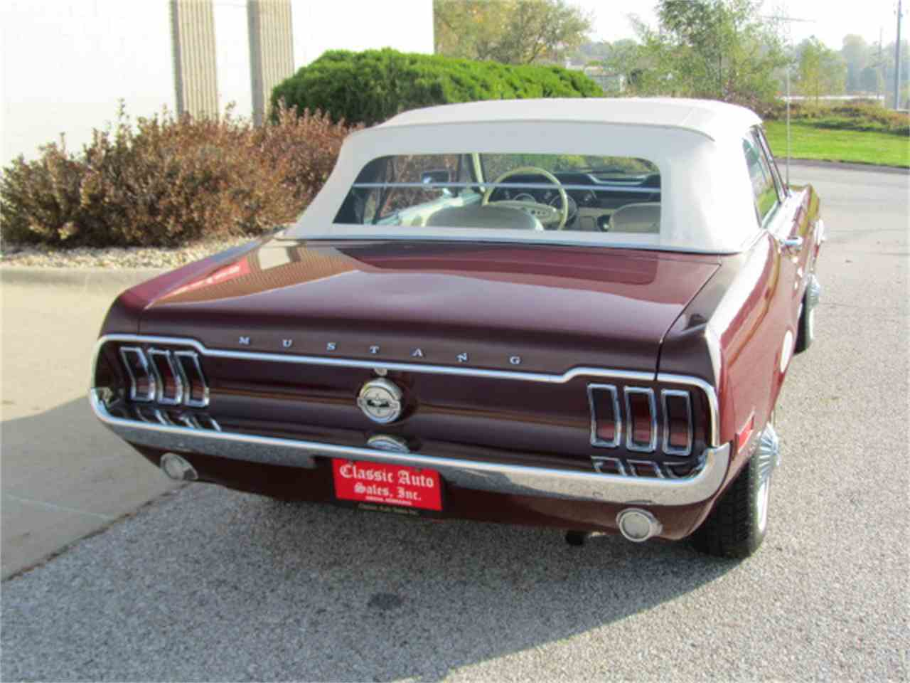 Large Picture of Classic '68 Mustang located in Nebraska Offered by Classic Auto Sales - JOGK