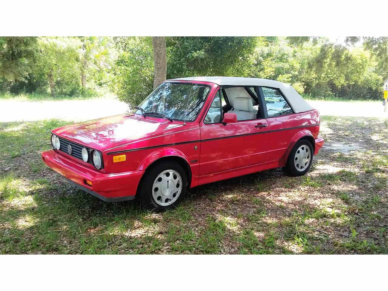 1992 Volkswagen Cabriolet for Sale | ClicCars.com | CC-918308