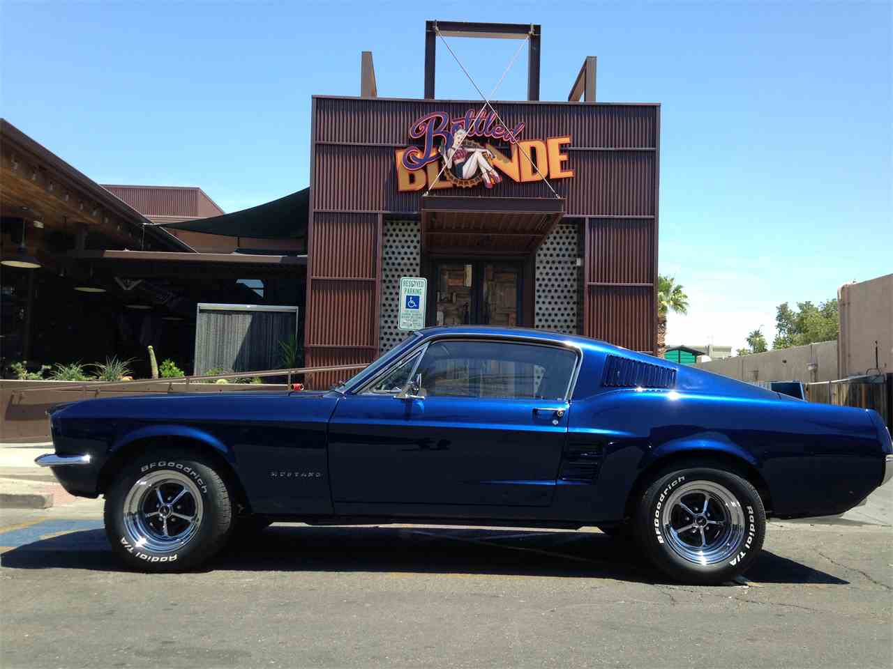 Large Picture of '67 Mustang Right Hand Drive - JP9M