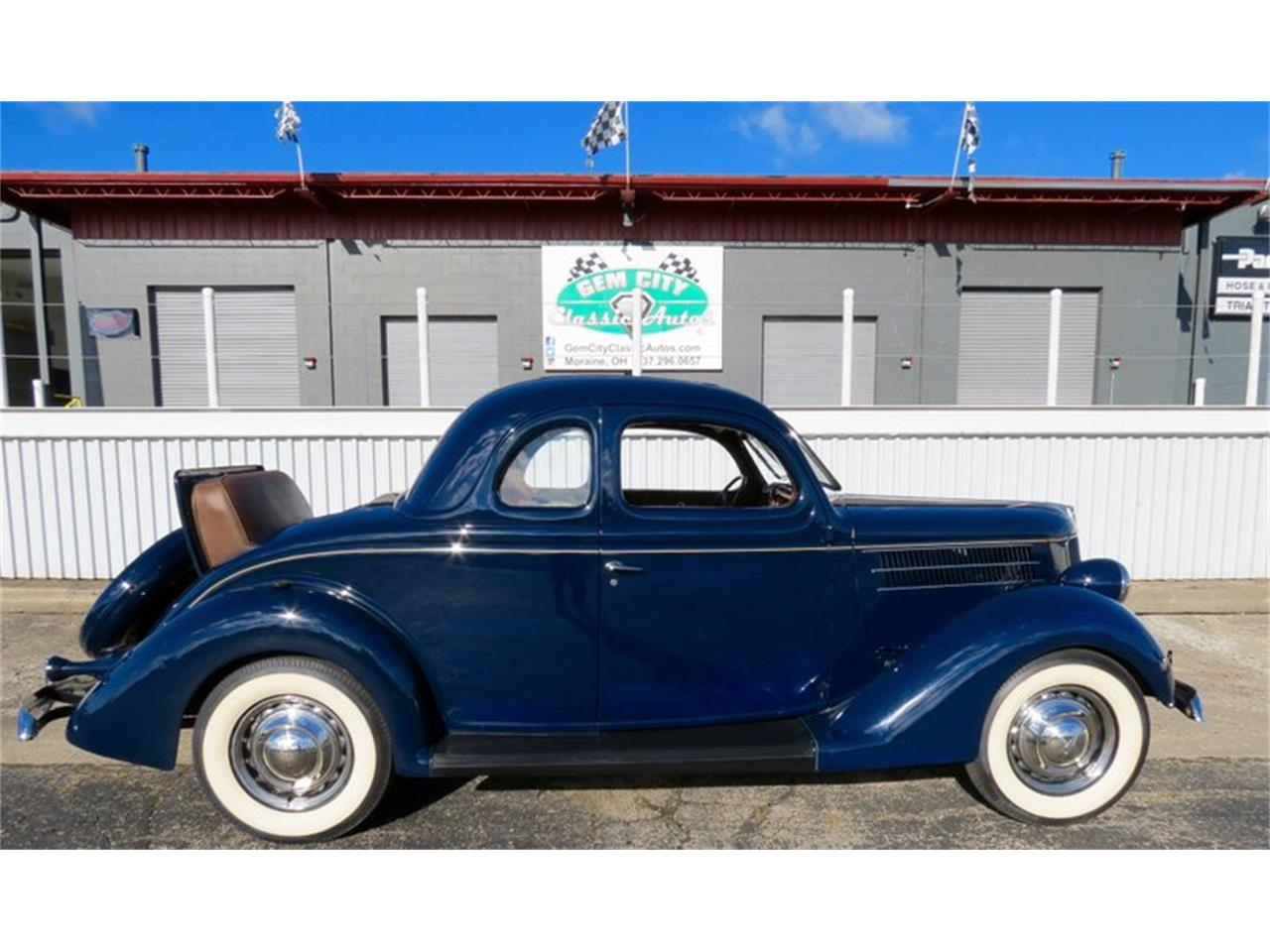 Large Picture of 1936 Ford Coupe - $39,995.00 Offered by Gem City Classic Autos - JPE0