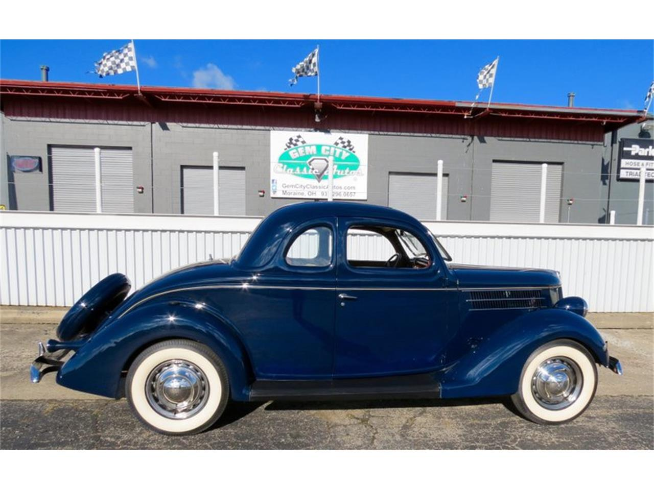 Large Picture of Classic '36 Ford Coupe located in Ohio - $39,995.00 Offered by Gem City Classic Autos - JPE0
