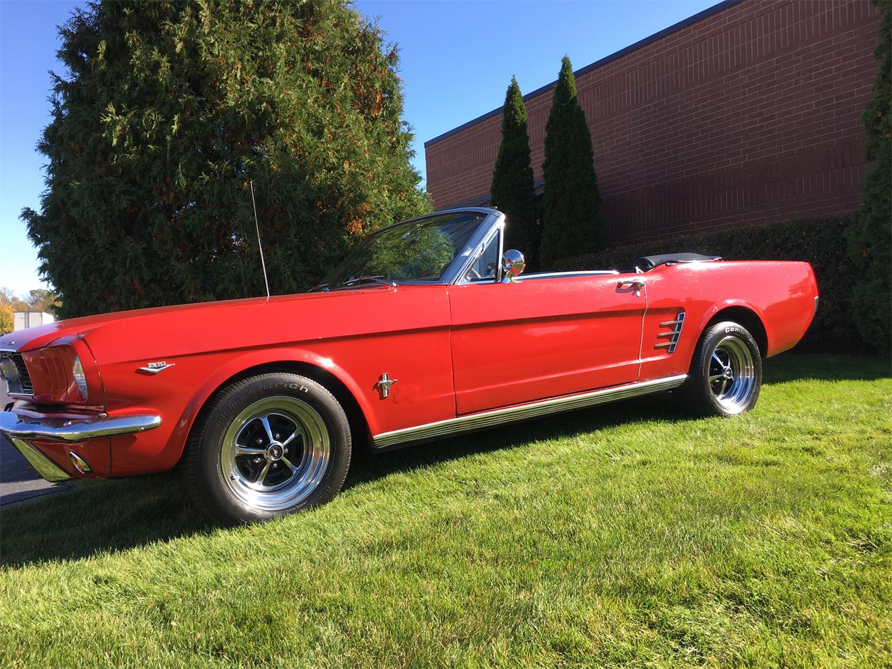 Large Picture of Classic '66 Mustang located in Illinois - $23,995.00 Offered by Classic Auto Haus - JPF7
