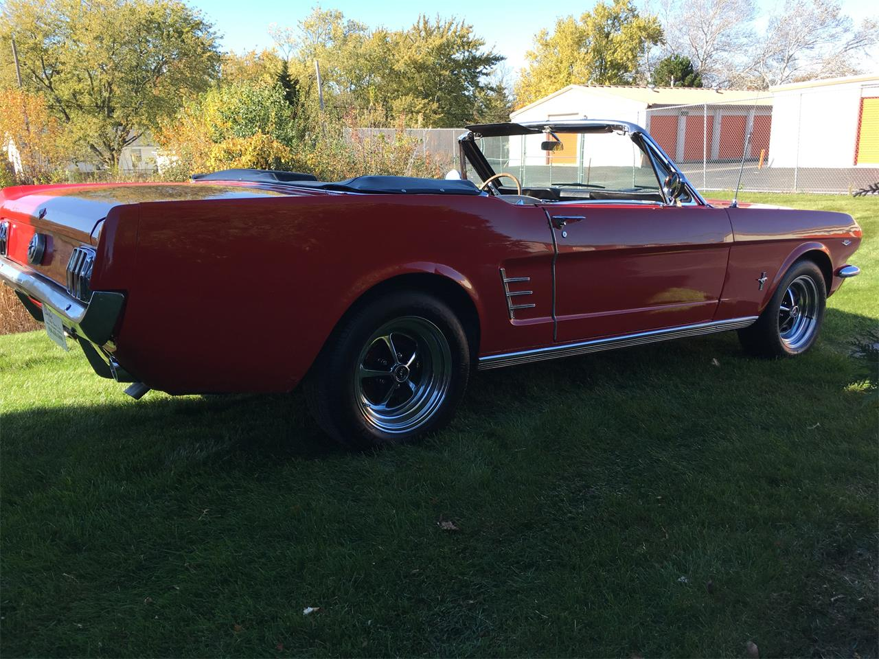 Large Picture of Classic '66 Ford Mustang located in Geneva  Illinois Offered by Classic Auto Haus - JPF7