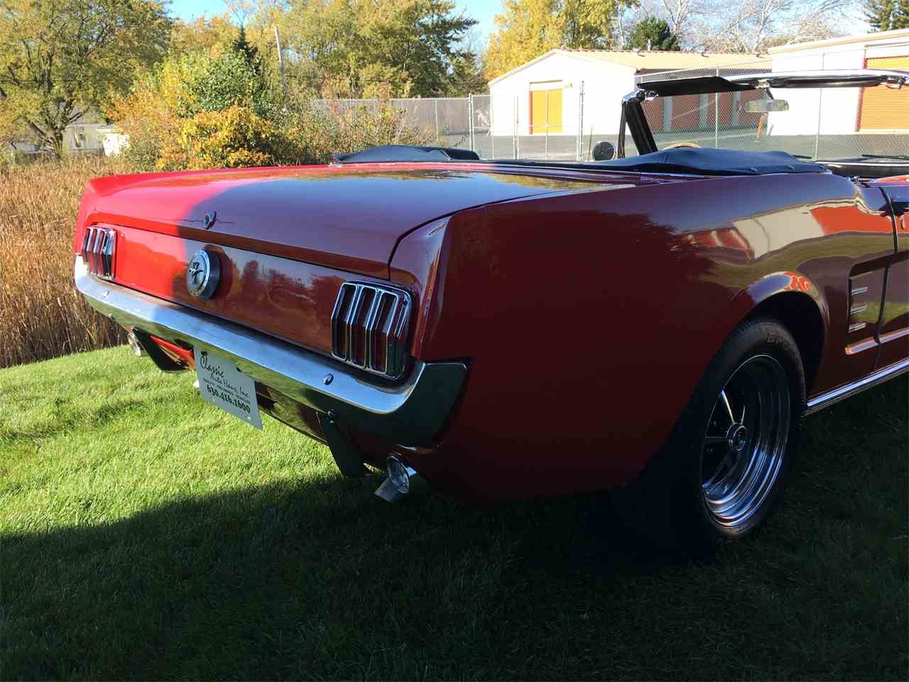 Large Picture of Classic 1966 Ford Mustang located in Geneva  Illinois Offered by Classic Auto Haus - JPF7