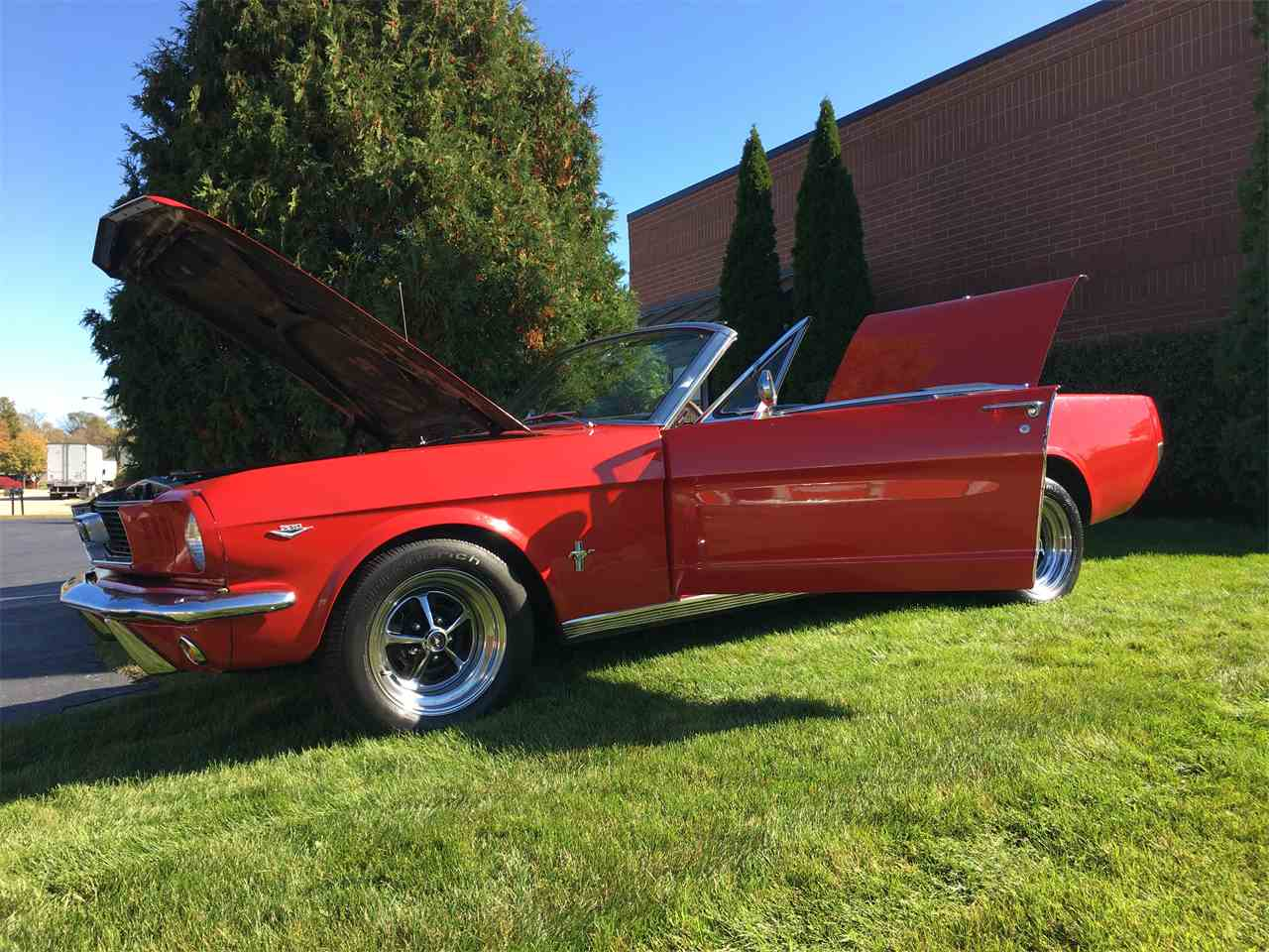 Large Picture of 1966 Ford Mustang located in Geneva  Illinois - JPF7
