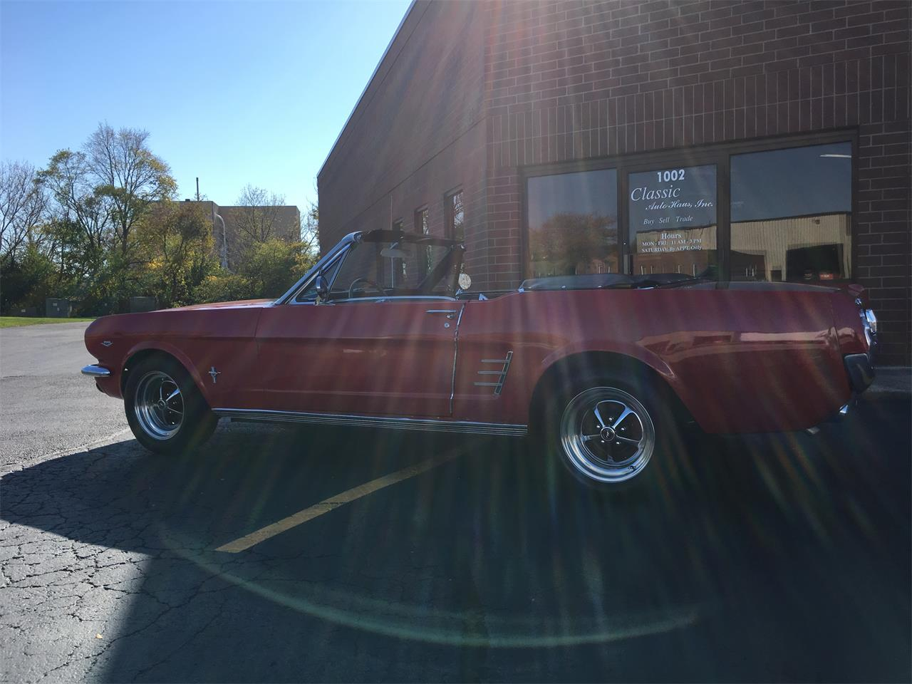 Large Picture of Classic '66 Mustang located in Geneva  Illinois Offered by Classic Auto Haus - JPF7