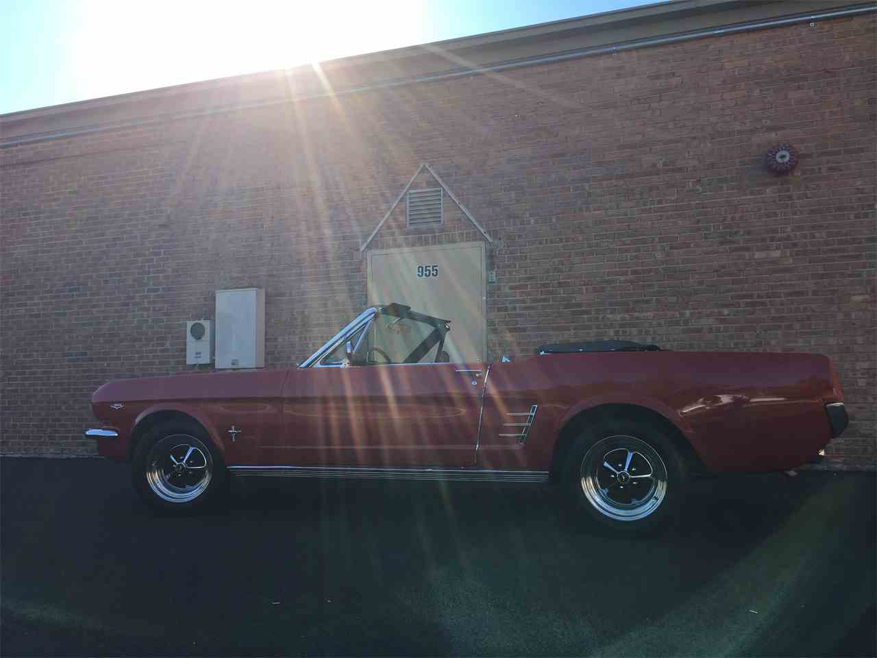 Large Picture of '66 Ford Mustang located in Geneva  Illinois - $23,995.00 Offered by Classic Auto Haus - JPF7