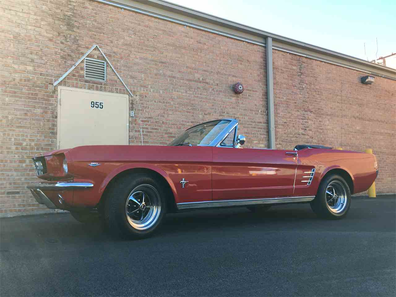 Large Picture of Classic 1966 Mustang located in Geneva  Illinois Offered by Classic Auto Haus - JPF7