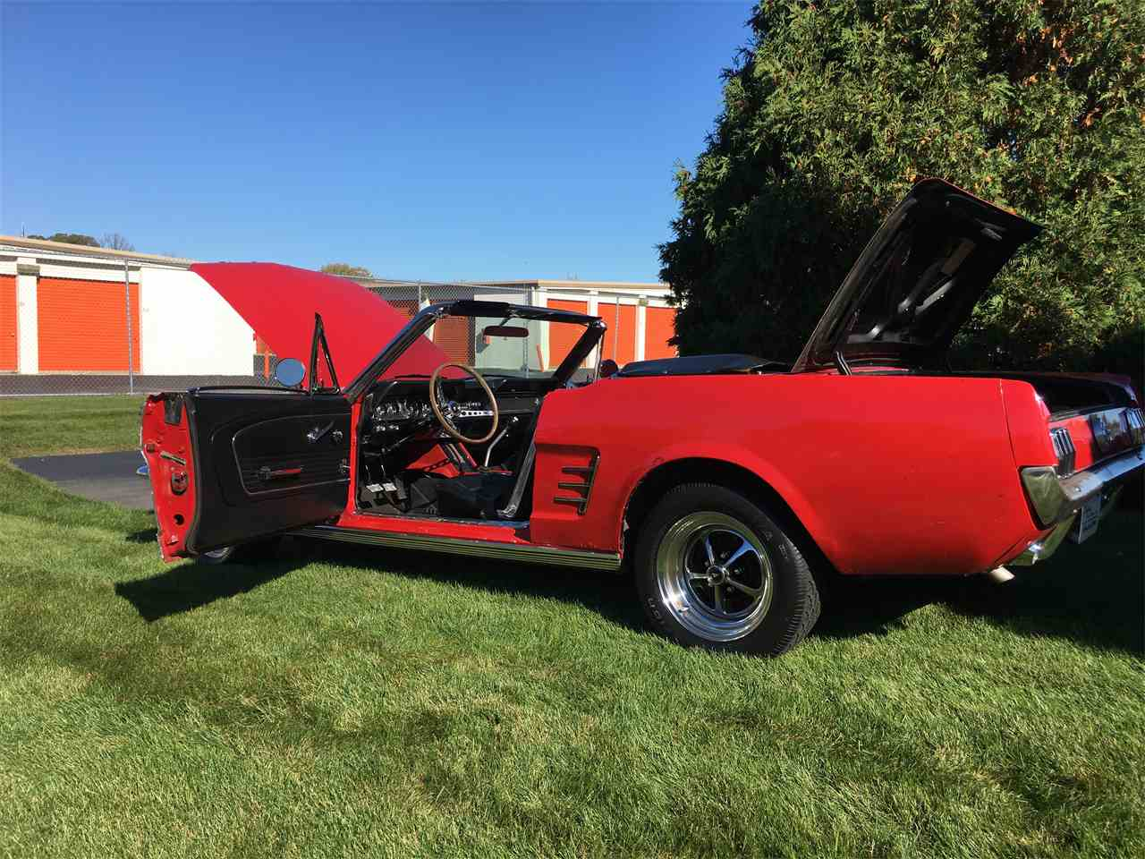 Large Picture of Classic '66 Ford Mustang located in Geneva  Illinois - $23,995.00 - JPF7