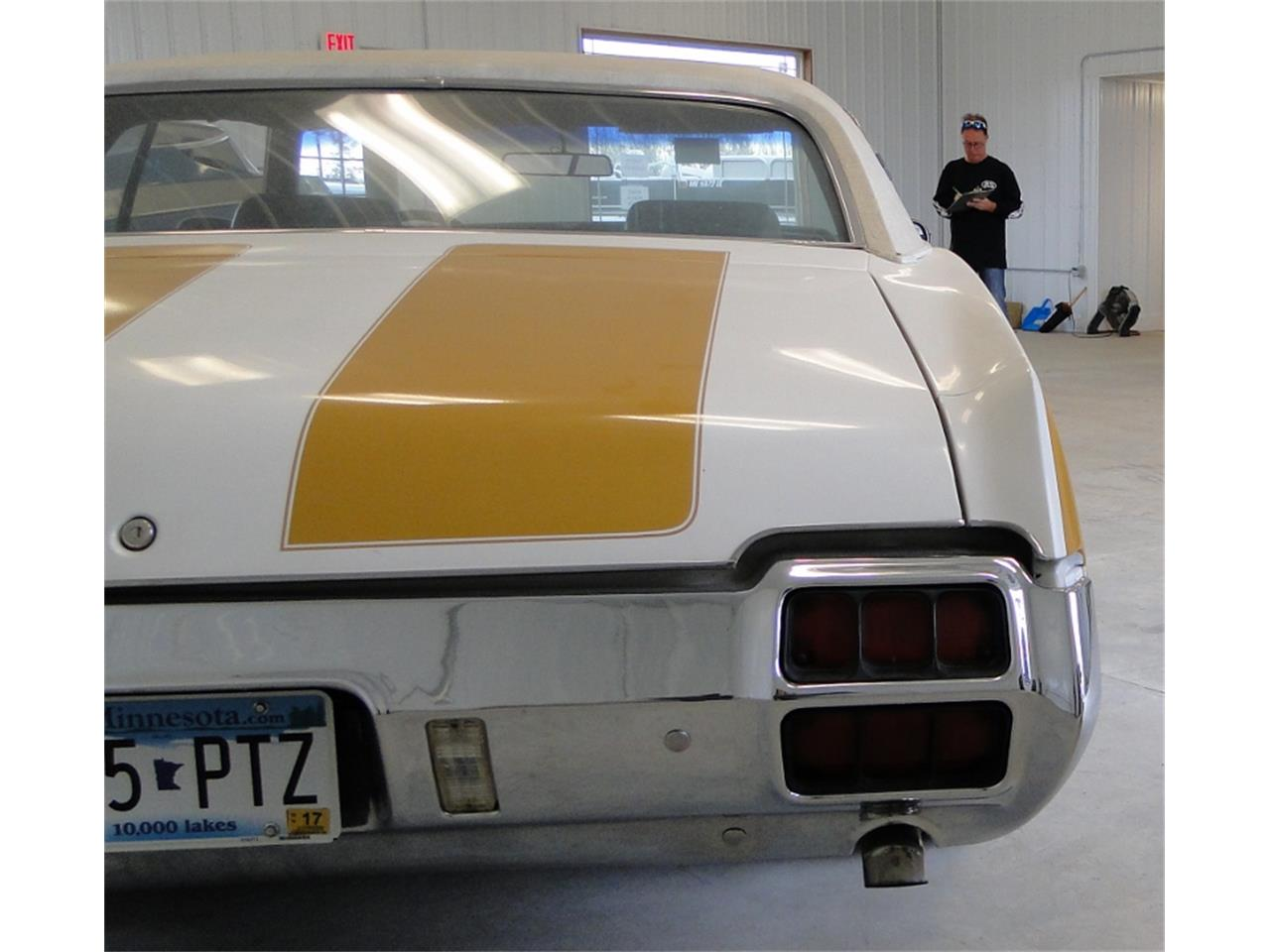 Large Picture of Classic 1972 Oldsmobile Hurst located in Grand Rapids Minnesota Offered by Big R's Muscle Cars - JPOO