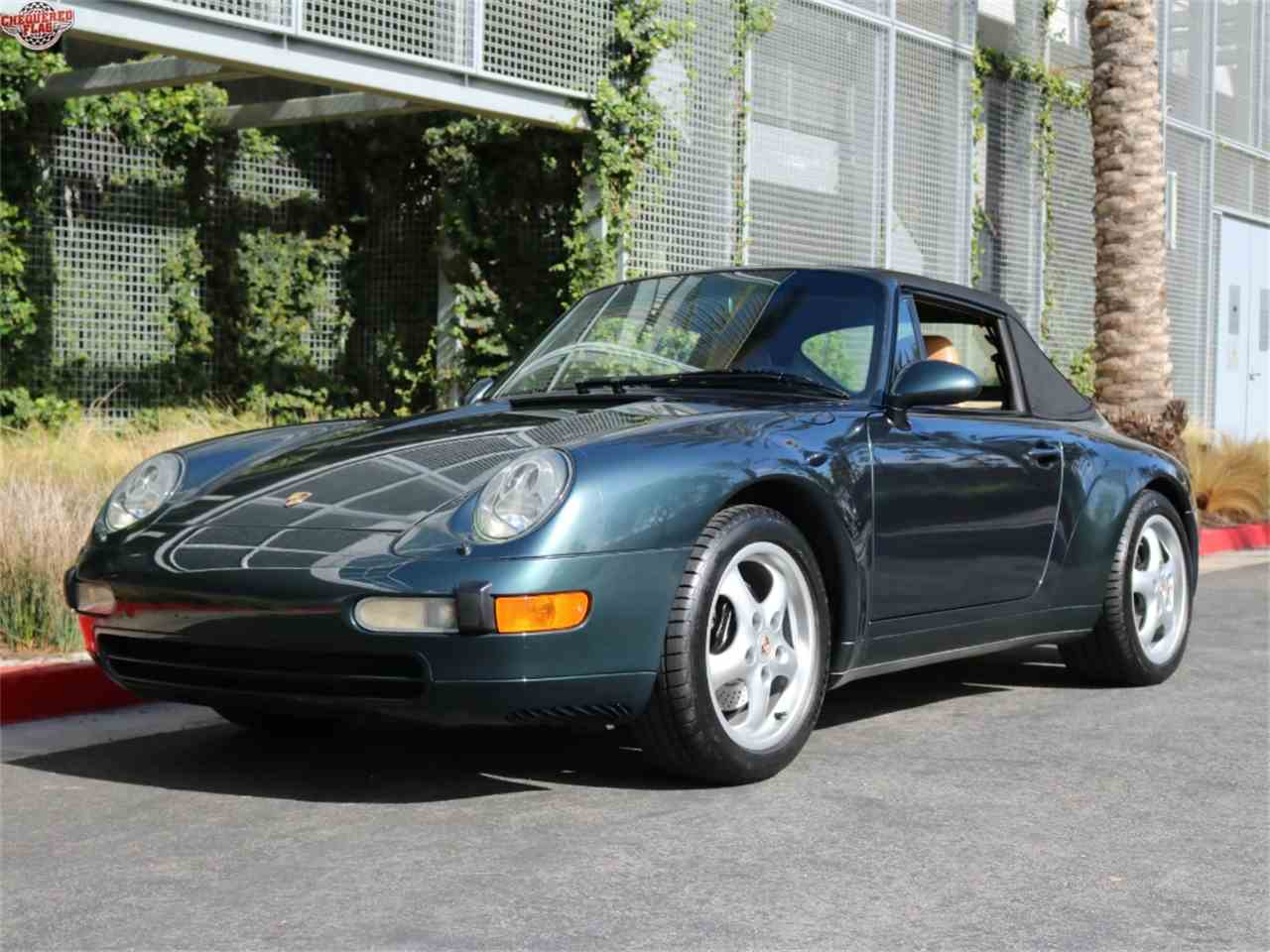 Large Picture of 1995 Porsche 993 located in Marina Del Rey California - $48,500.00 Offered by Chequered Flag International - JPQ2