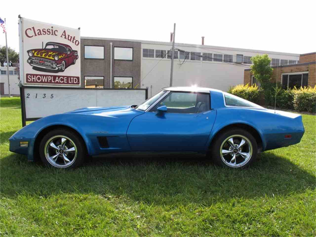Large Picture of '82 Chevrolet Corvette located in Michigan Offered by Classic Auto Showplace - JPQD