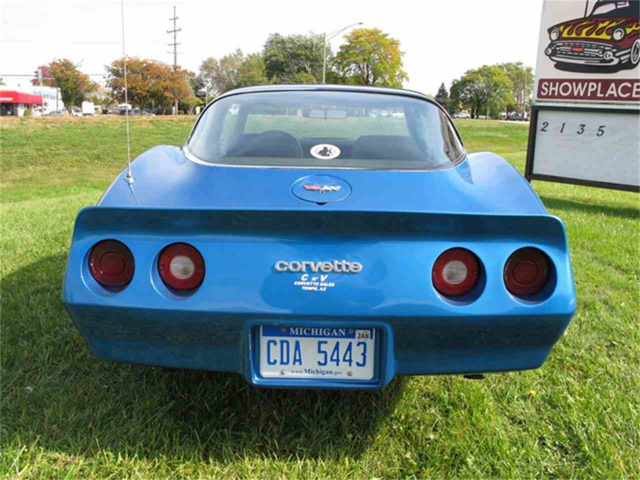 Large Picture of 1982 Corvette located in Michigan - $8,250.00 Offered by Classic Auto Showplace - JPQD