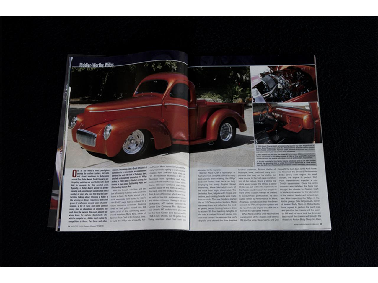 Large Picture of Classic 1941 Willys Pickup Offered by RK Motors Charlotte - JPQO