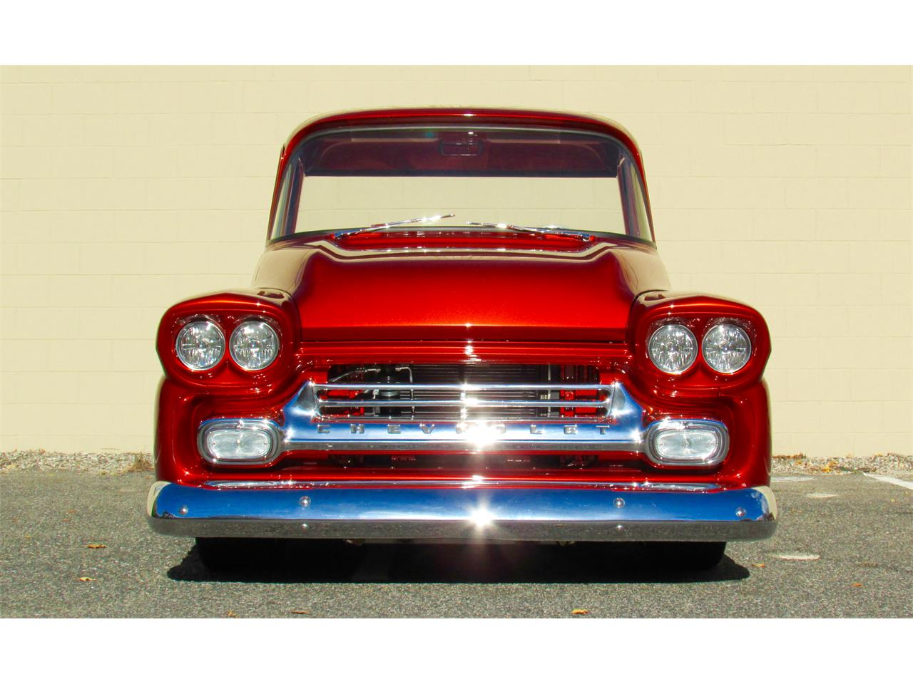 Large Picture of '59 Chevrolet Fleetside Custom Pickup Truck  - $169,000.00 - JPTV
