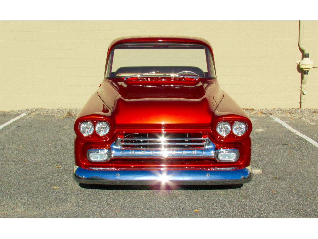 Large Picture of Classic 1959 Chevrolet Fleetside Custom Pickup Truck  - $169,000.00 Offered by a Private Seller - JPTV