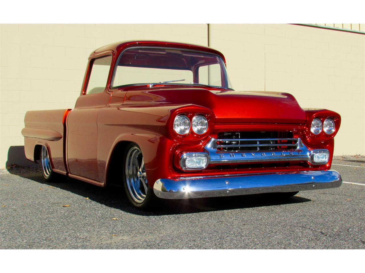 Large Picture of Classic '59 Chevrolet Fleetside Custom Pickup Truck  Offered by a Private Seller - JPTV