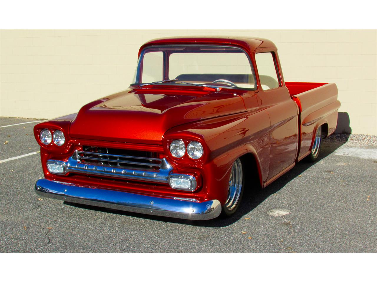 Large Picture of Classic 1959 Fleetside Custom Pickup Truck  - JPTV