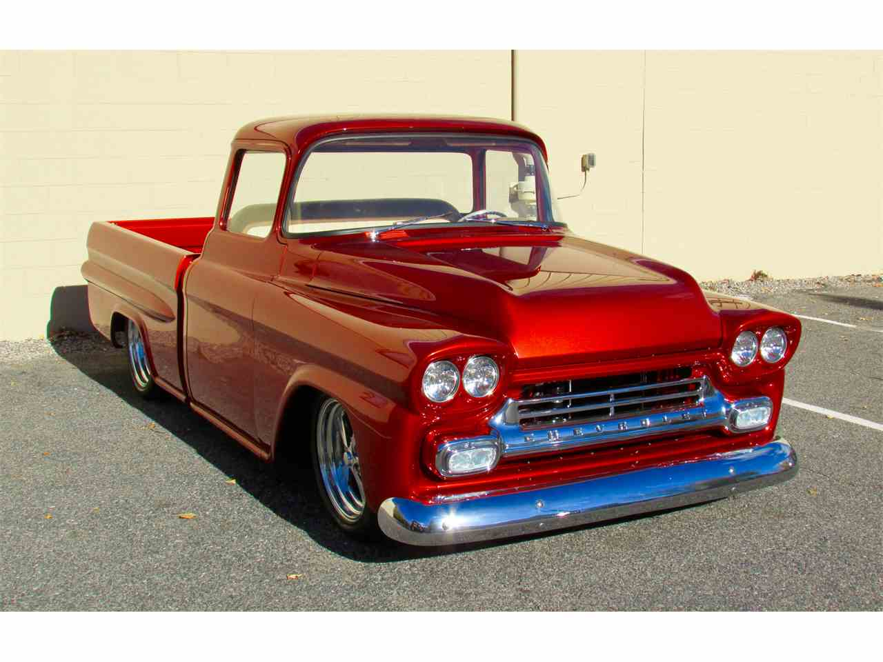Large Picture of '59 Chevrolet Fleetside Custom Pickup Truck  located in Massachusetts Offered by a Private Seller - JPTV