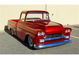 Picture of '59 Chevrolet Fleetside Custom Pickup Truck  - $169,000.00 - JPTV