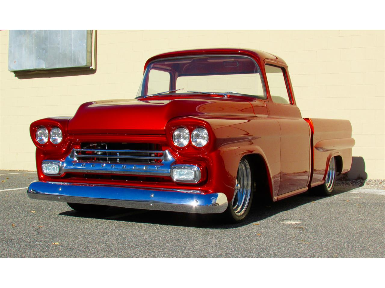 Large Picture of Classic 1959 Chevrolet Fleetside Custom Pickup Truck  located in Massachusetts Offered by a Private Seller - JPTV