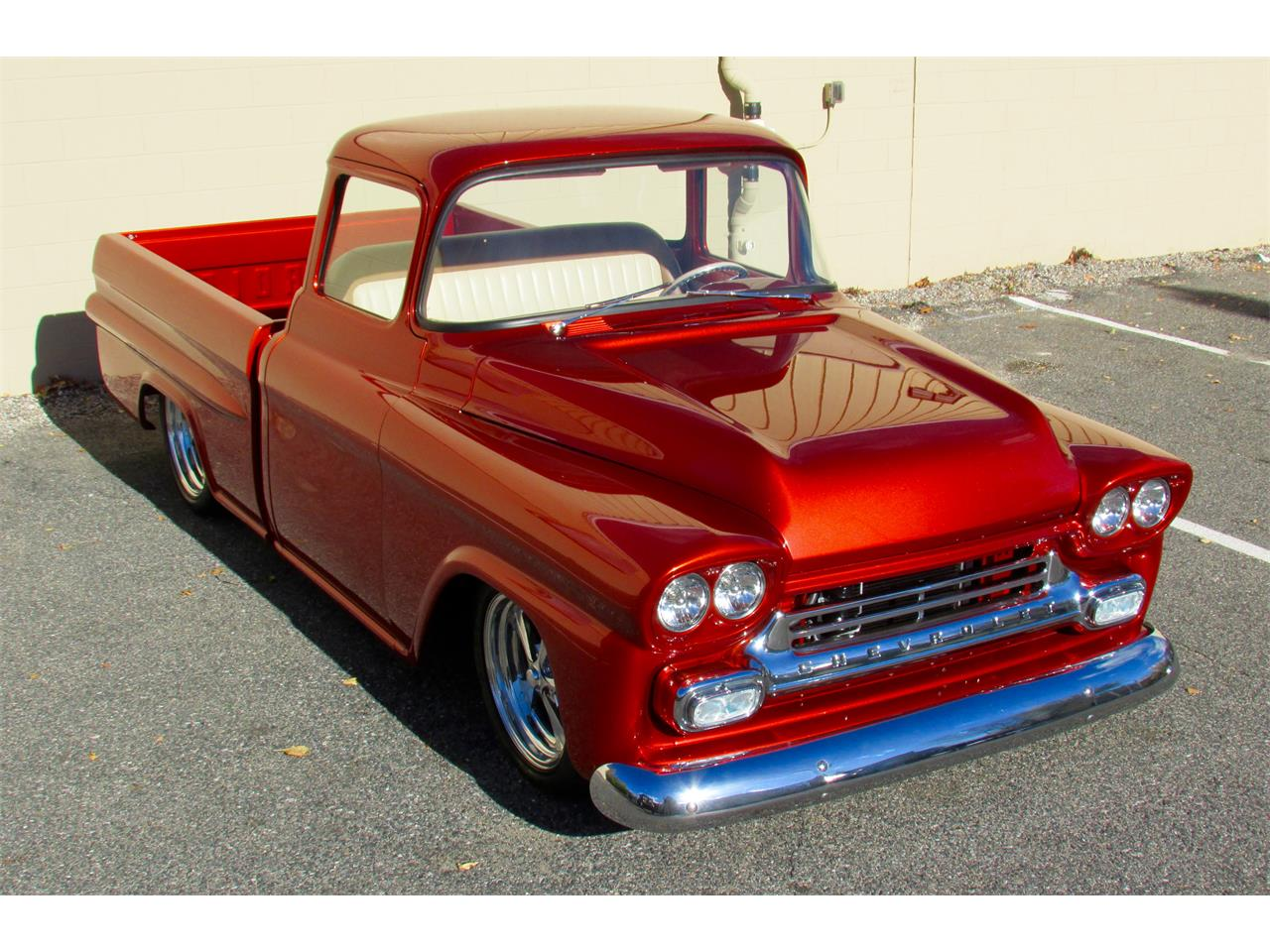 Large Picture of '59 Fleetside Custom Pickup Truck  located in Framingham Massachusetts - $169,000.00 - JPTV