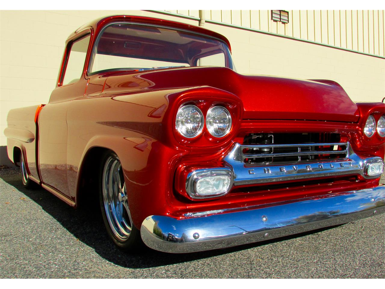 Large Picture of 1959 Fleetside Custom Pickup Truck  located in Framingham Massachusetts - JPTV