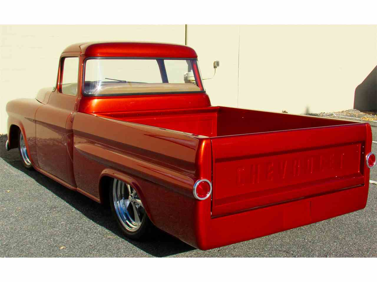 Large Picture of Classic '59 Chevrolet Fleetside Custom Pickup Truck  located in Framingham Massachusetts Offered by a Private Seller - JPTV