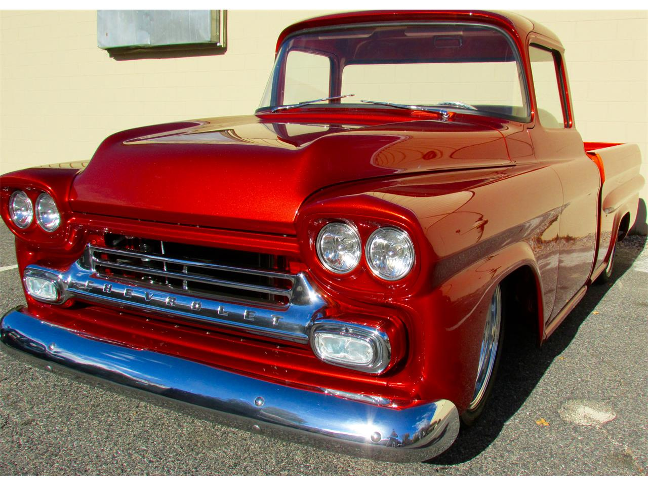 Large Picture of Classic '59 Chevrolet Fleetside Custom Pickup Truck  - $169,000.00 Offered by a Private Seller - JPTV