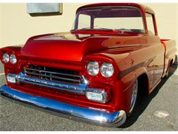 Picture of '59 Fleetside Custom Pickup Truck  - JPTV