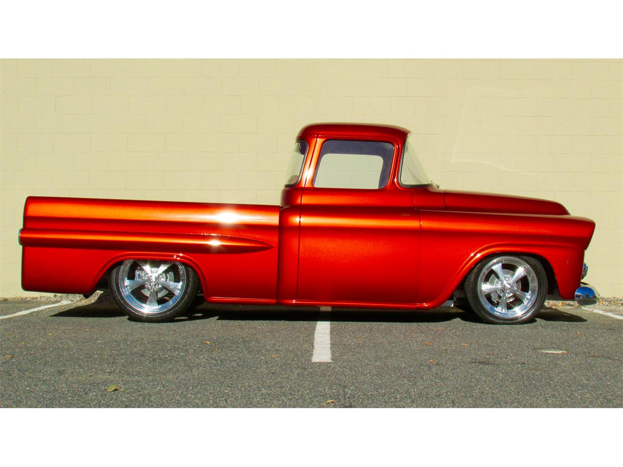 Large Picture of 1959 Chevrolet Fleetside Custom Pickup Truck  located in Framingham Massachusetts - JPTV
