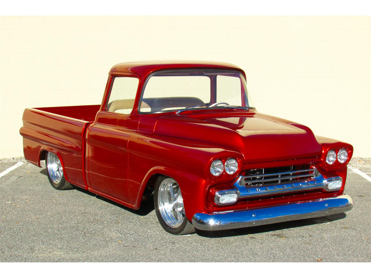 Large Picture of Classic 1959 Fleetside Custom Pickup Truck  - $169,000.00 - JPTV