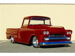 Picture of Classic 1959 Chevrolet Fleetside Custom Pickup Truck  - $169,000.00 Offered by a Private Seller - JPTV