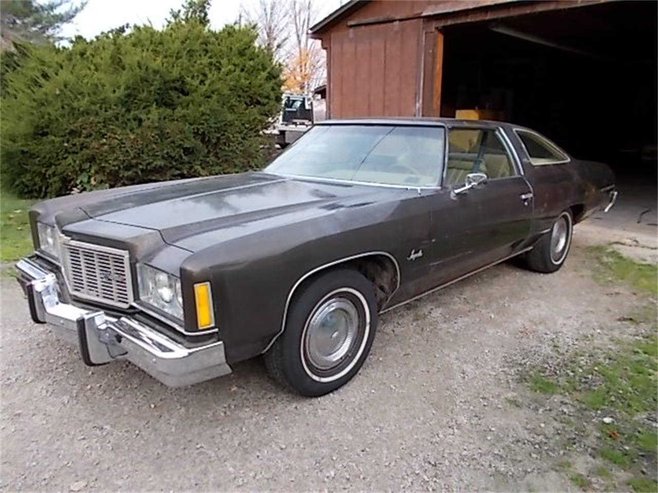 For Sale 1975 Chevrolet Impala In Creston Ohio