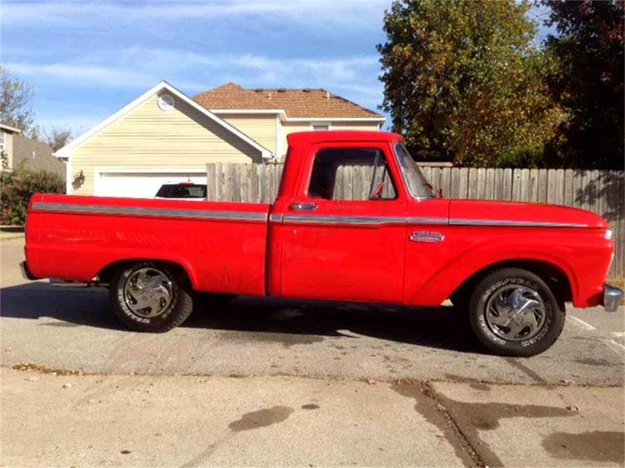 Large Picture of '66 F100 - JQQV