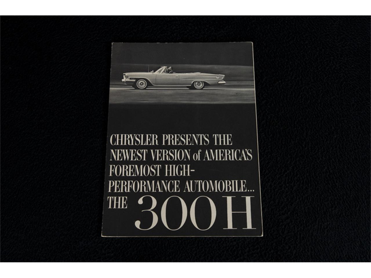 Large Picture of '62 300 - JQR0