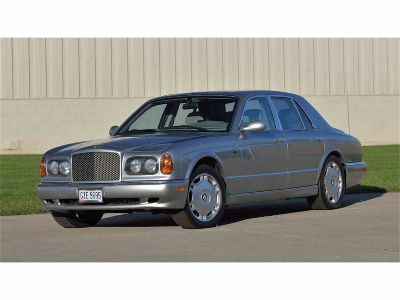 lot ref arnage buying cars auctions bentley label red